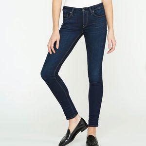 Hudson Jeans Krista Super Skinny Jeans Dark Wash